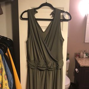 Olive green Romper Size 14 Plus
